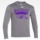 USF Football Conf Champs 04 UA Locker Tee LongSleeve