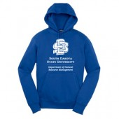 SDSU Natural Resource Management Fall 2016 04 Sport Tek 65/35 Cotton Poly Blend Hooded Sweatshirt