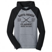 Dakota Premier Hockey Bantam A & B 04 Adult District Lightweight Raglan Hooded Sweatshirt