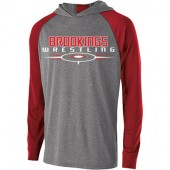 Brookings Wrestling 2016 04 Mens and Ladies Holloway Lightweight Hoody