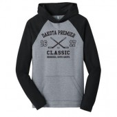 Dakota Premier Hockey 19U A Girls 04 Adult District Lightweight Raglan Hooded Sweatshirt
