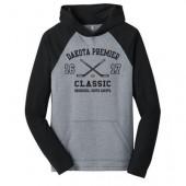 Dakota Premier Hockey 19U A Girls 04 Adult District Lightweight Raglan Hooded Sweatshirt