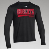 Bobcat Baseball 2017 04 Youth and Adult Under Armour Longsleeve Poly T Shirt