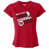 Omaha Westside Track & Field 04 Champion Double Dry Women's V-Neck Performance T-Shirt