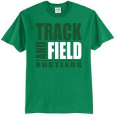 Miller Track and Field  2017 04 50/50 Cotton Poly Blend Short Sleeve