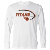 Sioux Center Titans Youth Football 2017 04 Champion Double Dry Performance Long Sleeve Tee