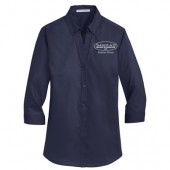 Showplace Wood Products 04 Ladies SuperPro ¾ Sleeve shirt