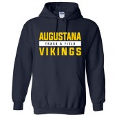 Augustana Cross Country and Track & Field 2017 04 Gildan Hooded Sweatshirt