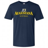 Augustana Softball 2017 Fans 04 Gildan Performance Core Tee