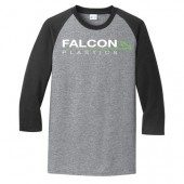 Falcon Plastic Fall 2017 04 Port & Company® Core Blend 3/4-Sleeve Raglan Tee