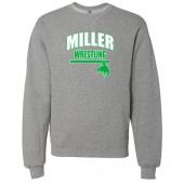Miller Wrestling Winter 2017 04 Russell Athletic Dri Power® Crewneck Sweatshirt