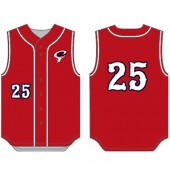 Sioux Falls Cyclones Uniforms 2018 04 Youth Alleson Baseball Vest- 6 week delivery from CLOSE of store