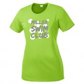 Miller Swim Club 04 Mens, Ladies, OR Youth 100% Moisture Wicking Poly Short Sleeve T Shirt