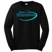 Power and Grace Gymnastics 04 Gildan Ultra Cotton 100% Cotton Long Sleeve T-Shirt