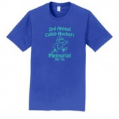 Caleb Hockett Memorial 04 Adult 100% Ringspun Cotton Short Sleeve T Shirt
