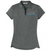 SDSU AST ABE 04 Mens and Ladies Port Authority Trace Heather Polo