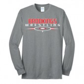 Brookings Wrestling 2016 05 Adult and Youth 50/50 Blend Longsleeve T Shirt