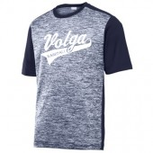 Volga Baseball 2017 05 Adult Sport Tek Electric Poly Colorblock T Shirt