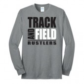 Miller Track and Field  2017 05 50/50 Cotton Poly Blend Long Sleeve