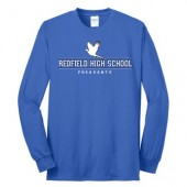 Redfield All School Reunion 05 Port and Company Long Sleeve Core Blend Tee
