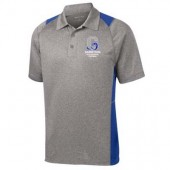 Garretson High School Fall Webstore 06 Mens and Womens Sport-Tek® Heather Colorblock Contender™ Polo