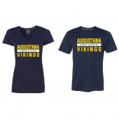 Augustana Cross Country and Track & Field 2017 05 Gildan Tech Performance Short Sleeve Tee