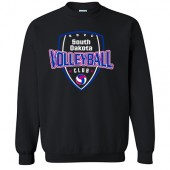 South Dakota Club Volleyball 2017 05 Youth and Adult Gildan Crewneck Sweatshirt