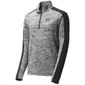 SDSU Flying Jacks Aviation Program Fall 2017 05 Sport-Tek® PosiCharge® Electric Heather Colorblock 1/4-Zip Pullover