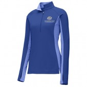 Dedicated Networks 05 Men's and Women's Sport-Tek Sport Wick Stretch Contrast ½ Zip