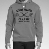 Dakota Premier Hockey 19U A Girls 05 Adult Under Armour Poly Fleece Hooded Sweatshirt