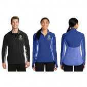 SDSU Dairy & Food Science Fall 2017 05 Sport Tek Contrast ½ Zip Pullover