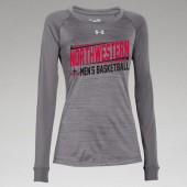 Northwestern Mens Basketball Fangear 05 UA Novelty Ladies Long Sleeve Tee
