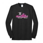 Gold Medal Gymnastics Booster Club 05 Port & Co 50/50 Long Sleeve T-shirt