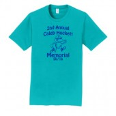 Caleb Hocket Memorial 05 Adult 100% Ringspun Cotton Short Sleeve T Shirt