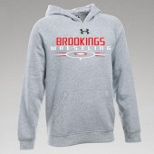Brookings Wrestling 2016 06 Youth Under Armour 80/20 Blend Hooded Sweatshirt