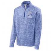 Garretson High School Fall Webstore 07 Sport-Tek® PosiCharge® Electric Heather Fleece 1/4-Zip Pullover