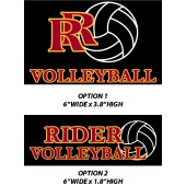 Roosevelt Volleyball 2017 06 Roosevelt Window Cling