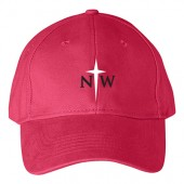 Northwestern Softball 2017 Player Apparel 06 Anvil Solid Brushed Twill Cap
