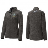 SDSU Flying Jacks Aviation Program Fall 2017 06 Sport-Tek® Ladies PosiCharge® Electric Heather Soft Shell Jacket