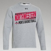 Northwestern Mens Basketball Fangear 06 UA Fleece Crew