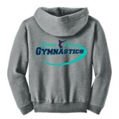 Power and Grace Gymnastics 06 Gildan Youth Full Zip Hoody