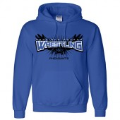 Redfield Doland Wrestling 2016 06 Gildan DryBlend Pullover Hooded Sweatshirt