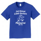 Caleb Hockett Memorial 06 Youth 100% Ringspun Cotton Short Sleeve T Shirt