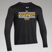 Dordt Men's Basketball Fan Gear 2017 07 UA Long Sleeve Locker tee