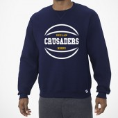 Bishop Heelan Basketball 2017 07 Adult and Youth Russell Dr Power Crewneck Sweatshirt