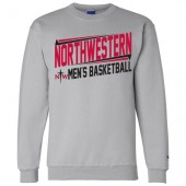 Northwestern Mens Basketball Fangear 07 Champion Eco Crew