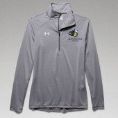 Augustana Wrestling 2016 07 UA Ladies Striped ¼ Zip