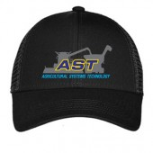 SDSU AST ABE 07 Port Authority Adjustable Mesh Back Hat