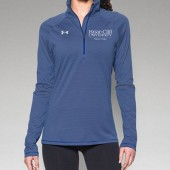 Briar Cliff University Physical Therapy 07 UA Womens Striped Tech ¼ Zip
