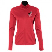 Omaha Westside Track & Field 08 Champion Women's Colorblocked Performance Full-Zip Sweatshirt